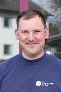Schlossermeister Helmut Graef
